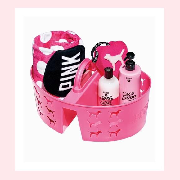 a7fe2c2d78336 Victoria's Secret PINK Shower Caddy NWT